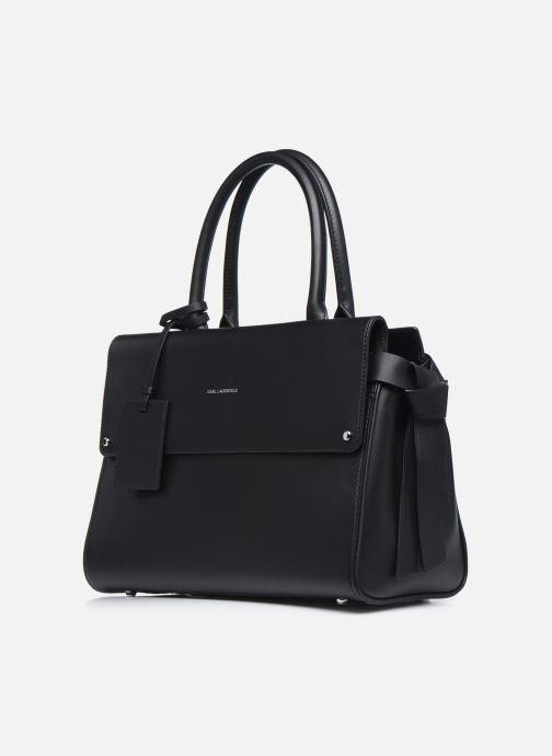 Handtaschen KARL LAGERFELD K/Ikon Medium Top Handle schwarz schuhe getragen