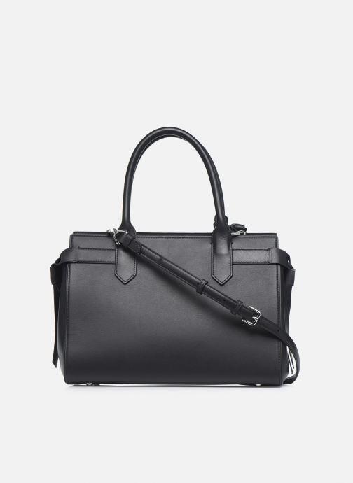Handtaschen KARL LAGERFELD K/Ikon Medium Top Handle schwarz ansicht von vorne