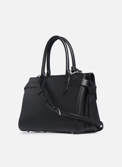 Handtaschen KARL LAGERFELD K/Ikon Medium Top Handle schwarz ansicht von rechts