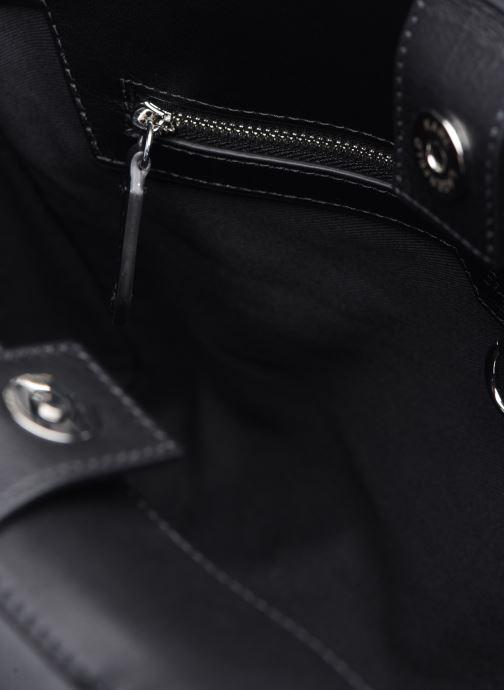 Handtaschen KARL LAGERFELD K/Ikon Medium Top Handle schwarz ansicht von hinten