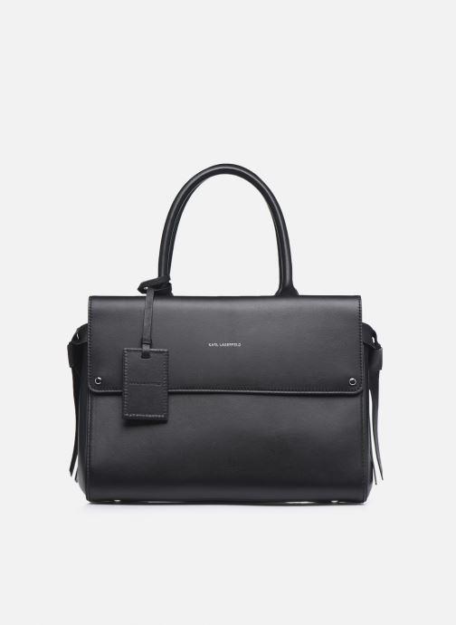 Handtaschen KARL LAGERFELD K/Ikon Medium Top Handle schwarz detaillierte ansicht/modell