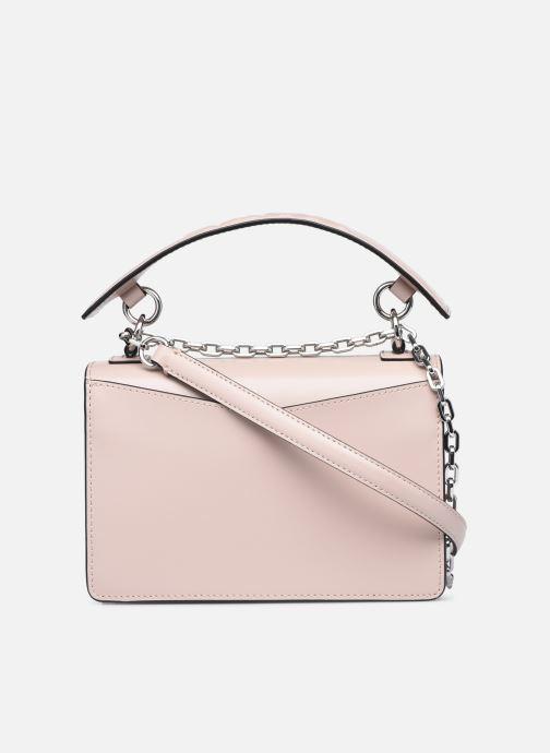 Handtaschen Karl Lagerfeld K/Karl Seven Shoulderbag rosa ansicht von vorne