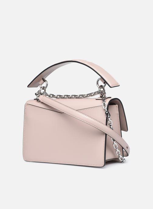 Handtaschen Karl Lagerfeld K/Karl Seven Shoulderbag rosa ansicht von rechts
