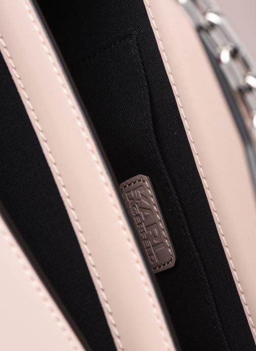 Handtaschen KARL LAGERFELD K/Karl Seven Shoulderbag rosa ansicht von hinten