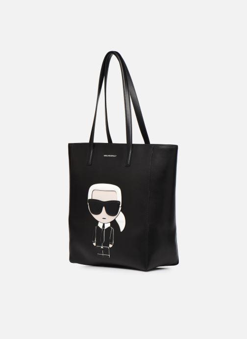 Handtassen Karl Lagerfeld K/Ikonik Soft Tote Zwart model