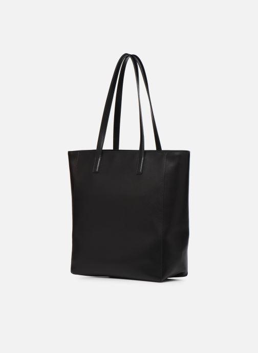 Handtassen Karl Lagerfeld K/Ikonik Soft Tote Zwart rechts