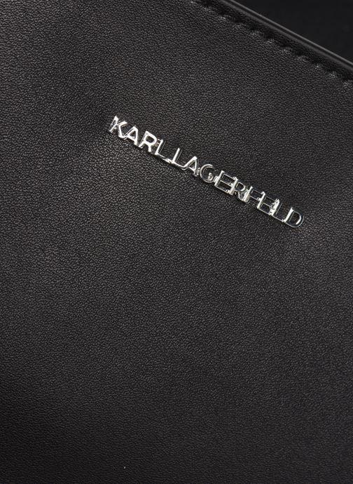 Handtassen Karl Lagerfeld K/Ikonik Soft Tote Zwart links