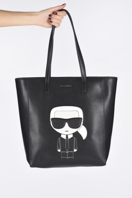 Handtassen Karl Lagerfeld K/Ikonik Soft Tote Zwart onder