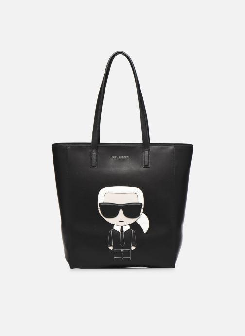 Handtassen Karl Lagerfeld K/Ikonik Soft Tote Zwart detail