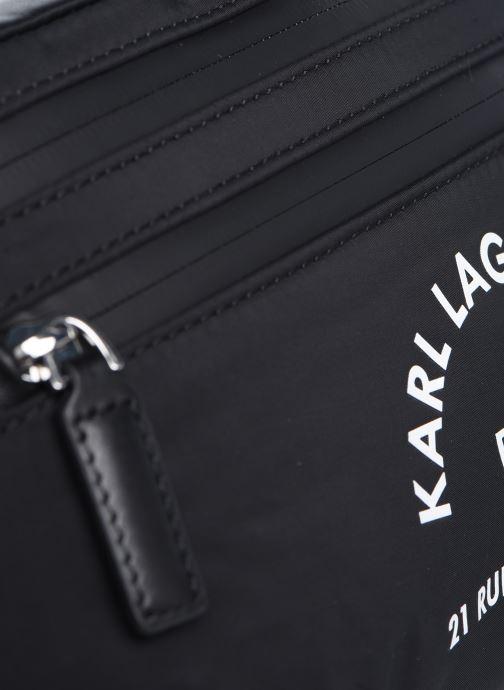 Bolsos de mano Karl Lagerfeld Rue St Guillaume Bumbag Negro vista lateral izquierda