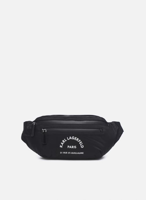 Bolsos de mano Karl Lagerfeld Rue St Guillaume Bumbag Negro vista de detalle / par