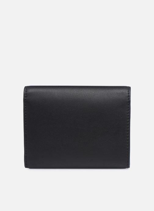 Marroquinería pequeña Karl Lagerfeld K/Ikonik Md Flap Wallet Negro vista de frente