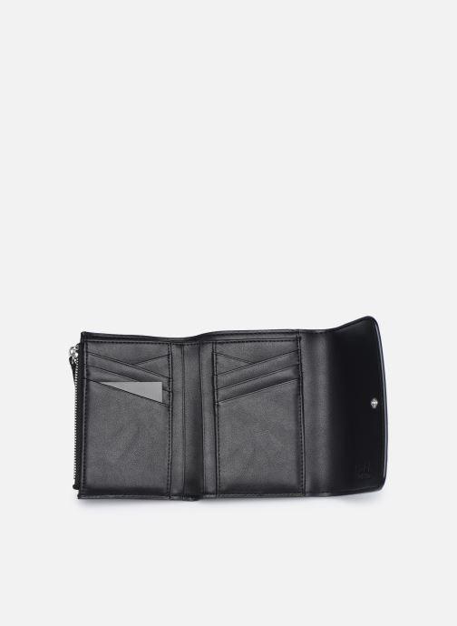 Marroquinería pequeña Karl Lagerfeld K/Ikonik Md Flap Wallet Negro vistra trasera