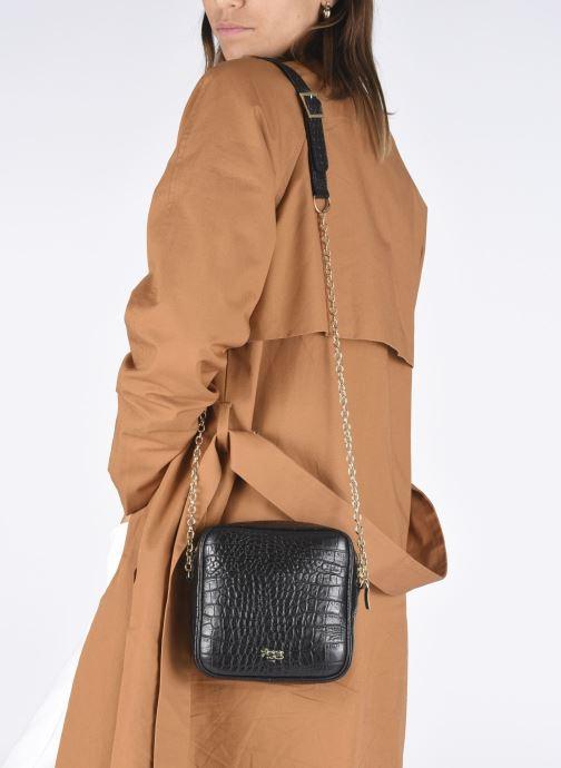Handtassen Louvreuse Niki Mini Zwart onder