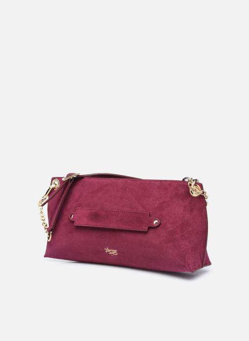 Bolsos de mano Louvreuse Milo Mini Violeta      vista del modelo