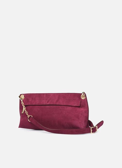 Bolsos de mano Louvreuse Milo Mini Violeta      vista lateral derecha