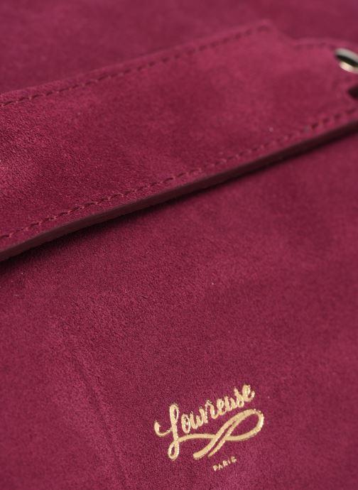 Bolsos de mano Louvreuse Milo Mini Violeta      vista lateral izquierda