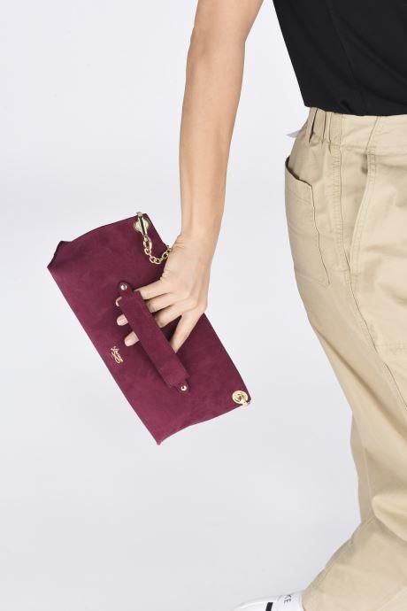 Bolsos de mano Louvreuse Milo Mini Violeta      vista de abajo