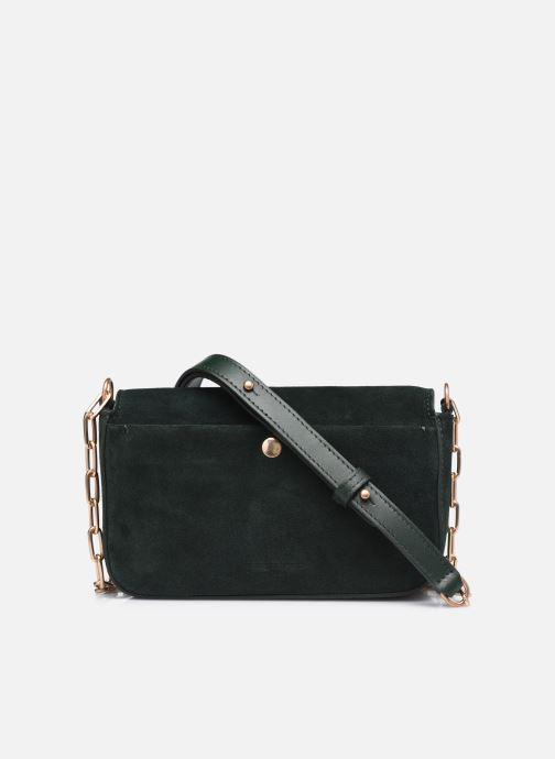 Handtaschen Vanessa Bruno Moon Rigide grün ansicht von vorne