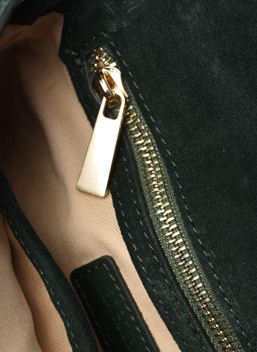 Handtaschen Vanessa Bruno Moon Rigide grün ansicht von hinten