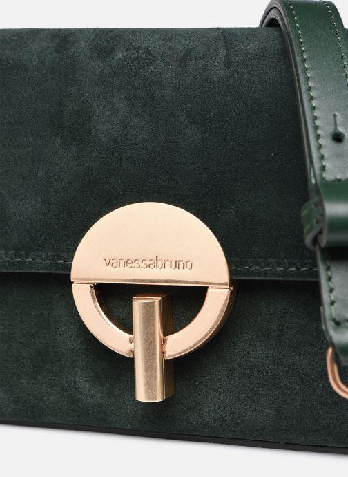 Handtaschen Vanessa Bruno Moon Rigide grün ansicht von links
