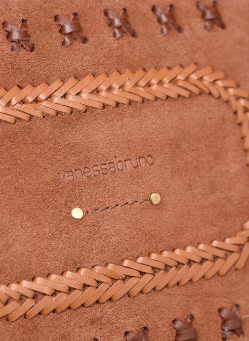 Bolsos de mano Vanessa Bruno Holly Crossbody Marrón vista lateral izquierda
