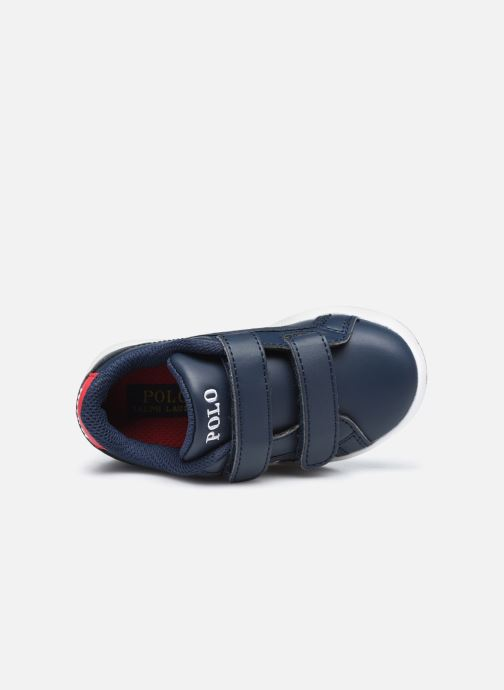 Baskets Polo Ralph Lauren Ormond EZ Bleu vue gauche