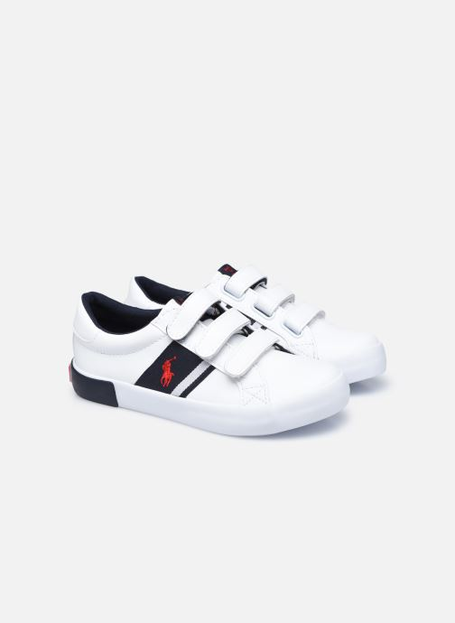 Sneaker Polo Ralph Lauren Gregot EZ weiß 3 von 4 ansichten