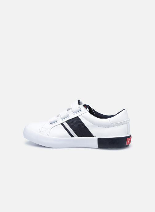 Sneaker Polo Ralph Lauren Gregot EZ weiß ansicht von vorne