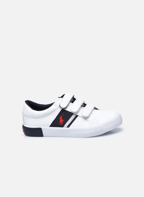 Sneaker Polo Ralph Lauren Gregot EZ weiß ansicht von hinten