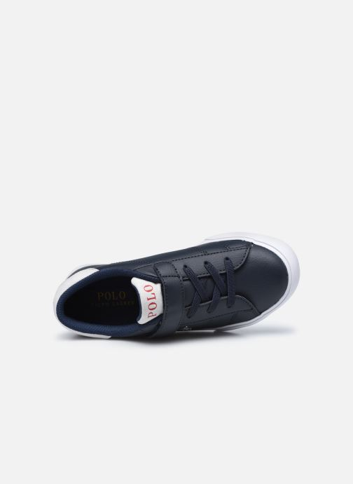 Baskets Polo Ralph Lauren Theron III PS Bleu vue gauche