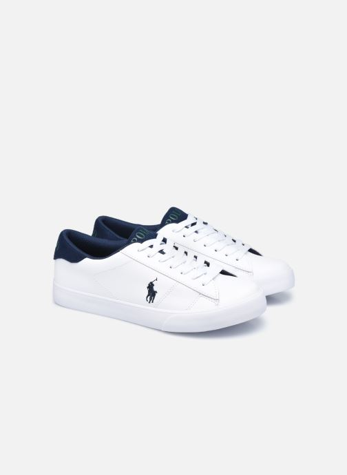 Sneakers Polo Ralph Lauren Theron III Wit 3/4'