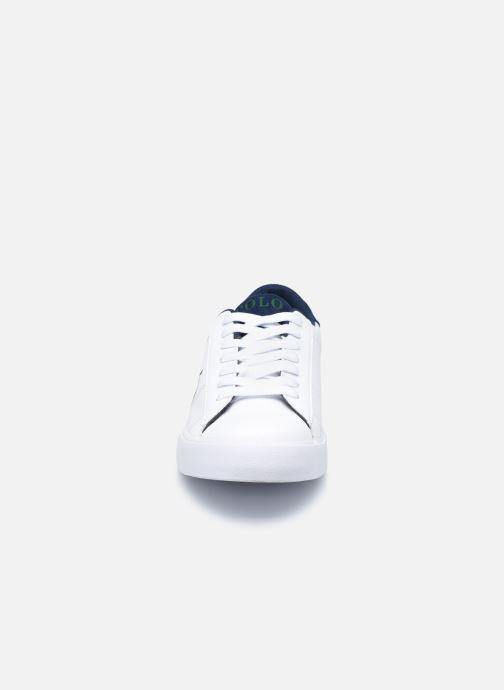 Baskets Polo Ralph Lauren Theron III Blanc vue portées chaussures