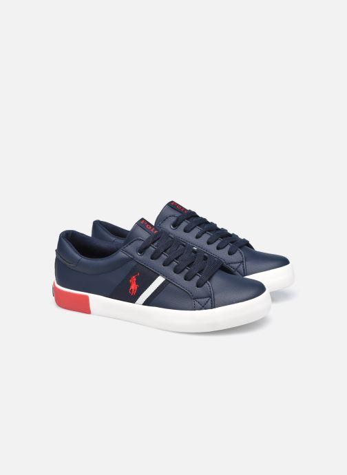 Sneakers Polo Ralph Lauren Gregot Blauw 3/4'