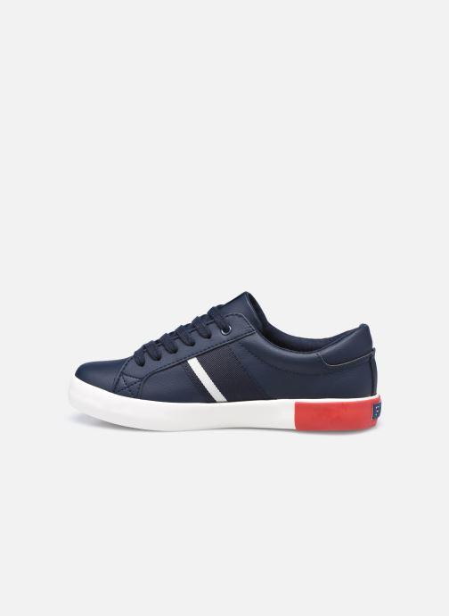 Sneakers Polo Ralph Lauren Gregot Blauw voorkant