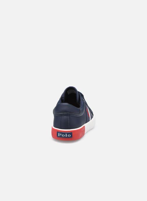 Sneakers Polo Ralph Lauren Gregot Blauw rechts