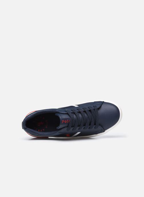 Sneakers Polo Ralph Lauren Gregot Blauw links