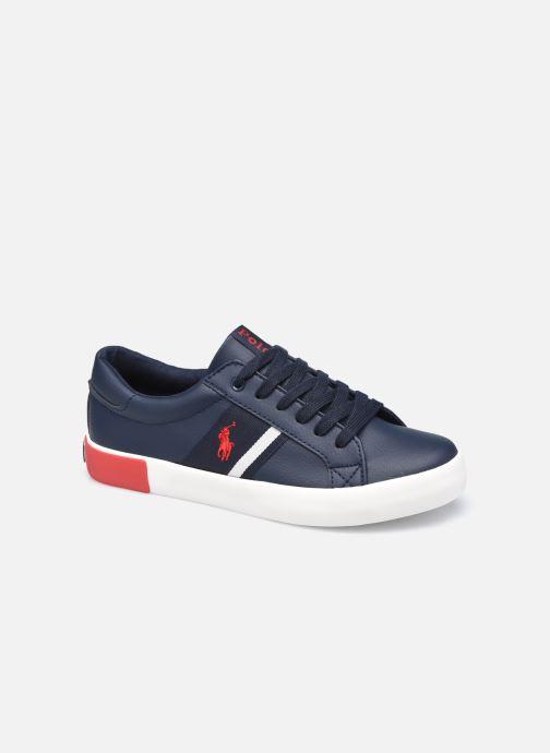 Sneakers Polo Ralph Lauren Gregot Blauw detail
