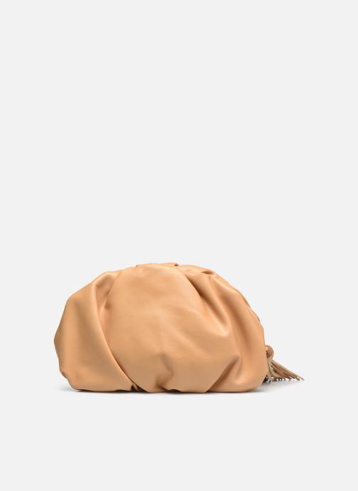 Mini Bags Rebecca Minkoff Ruched Clutch braun ansicht von vorne
