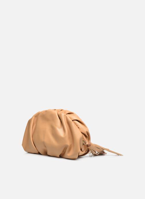 Mini Bags Rebecca Minkoff Ruched Clutch braun ansicht von rechts