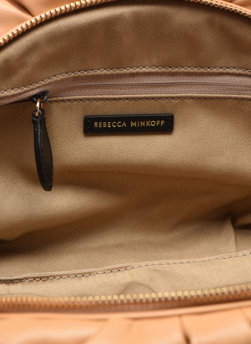 Pochette Rebecca Minkoff Ruched Clutch Marrone immagine posteriore