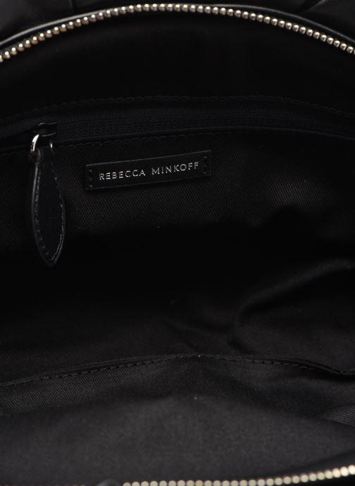 Sacs pochettes Rebecca Minkoff Ruched Clutch Noir vue derrière