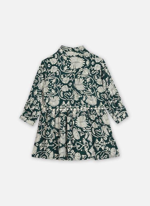 Vêtements Bakker Made With Love Dress Louison Végétal Vert vue portées chaussures