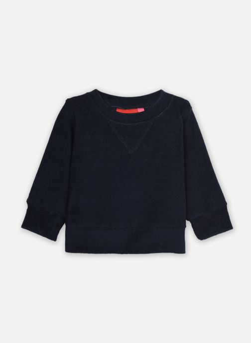 Vêtements Bakker Made With Love Velvet Sweat Shirt Bruce Bleu vue détail/paire