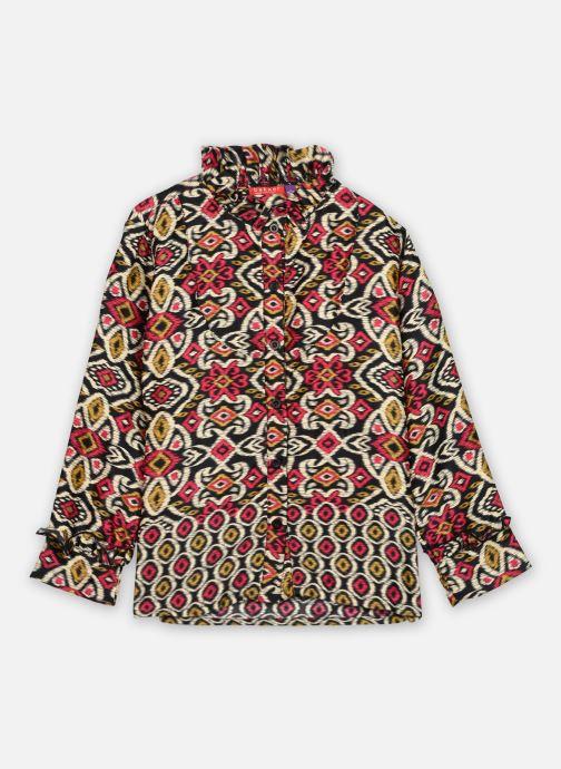 Vêtements Bakker Made With Love Top Bernadette long sleeves with Froufrou collar Rose vue détail/paire