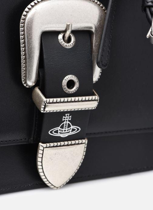 Sacs à main Vivienne Westwood Rodeo Small Shoulder Bag Noir vue gauche