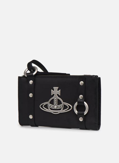 Sacs à main Vivienne Westwood Betty Crossbody Bumbag Noir vue portées chaussures
