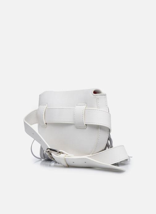 Sacs à main Essentiel Antwerp Wonderwoman Fringe Belt Bag Blanc vue droite