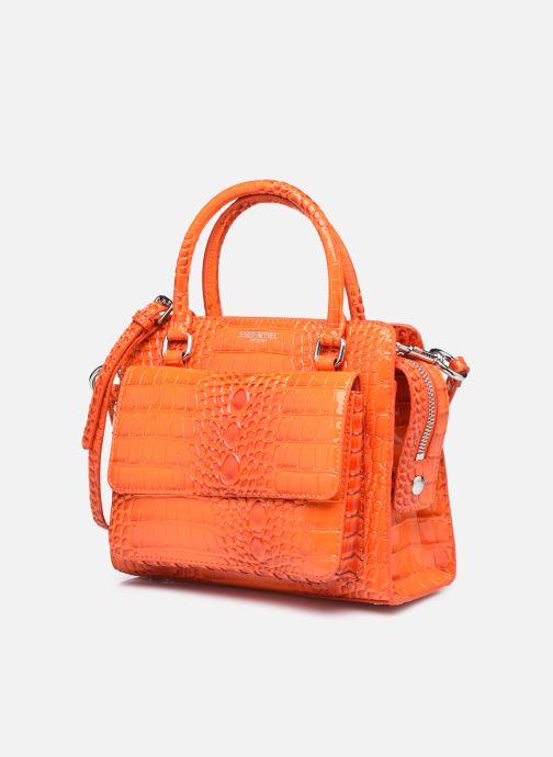 Sacs à main Essentiel Antwerp Weze Orange vue portées chaussures