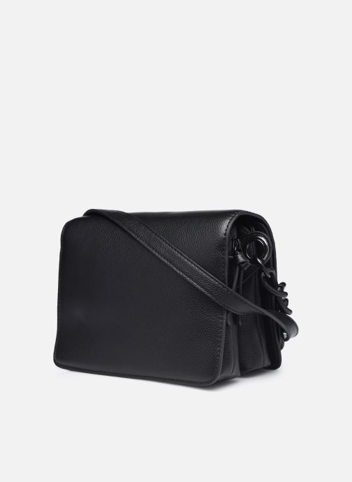 Bolsos de mano Essentiel Antwerp Washing Negro vista lateral derecha